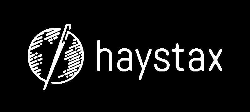 Haystax-Logo_1Color_Reversed