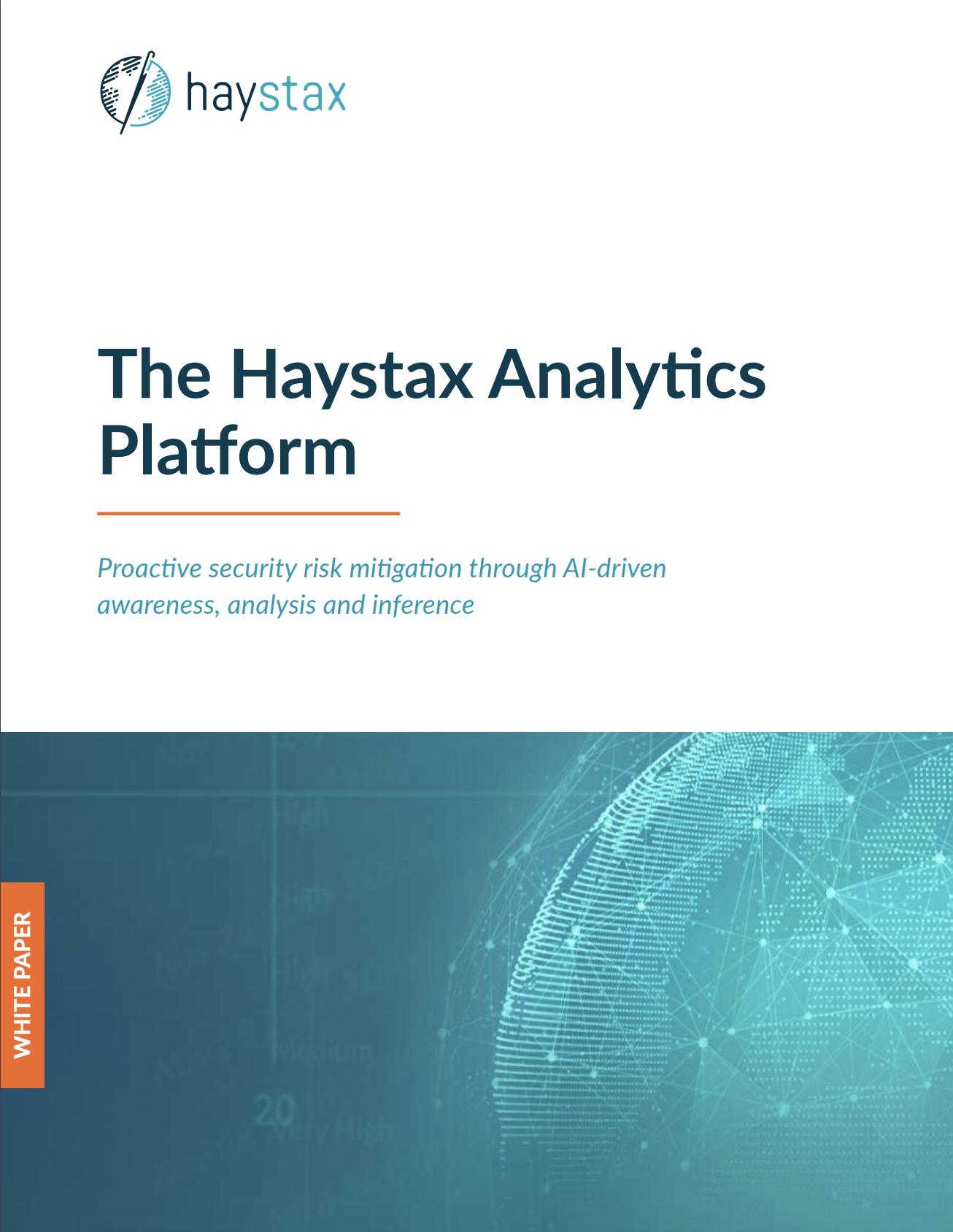Haystax Analytics Platform White Paper
